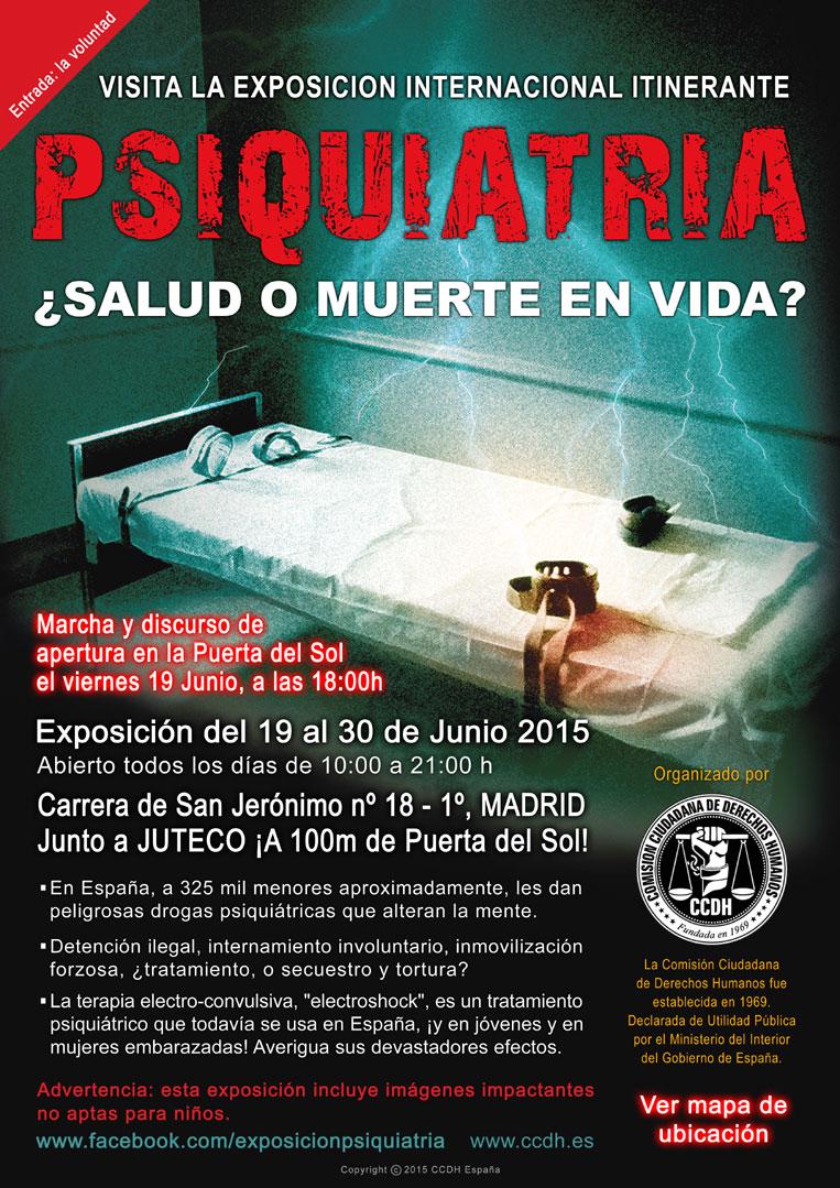 Exposición Internacional sobre la Psiquiatría en Madrid