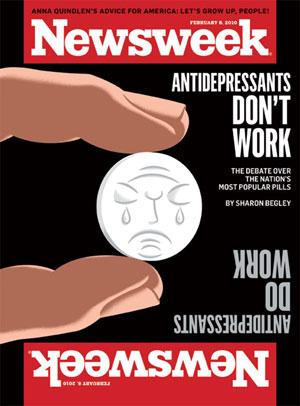 """Newsweek publica en portada: """"los antidepresivos no funcionan"""""""