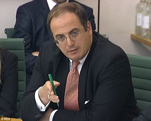 Michael Ellis un miembro Tory del Comité Selecto de Asuntos de Interior