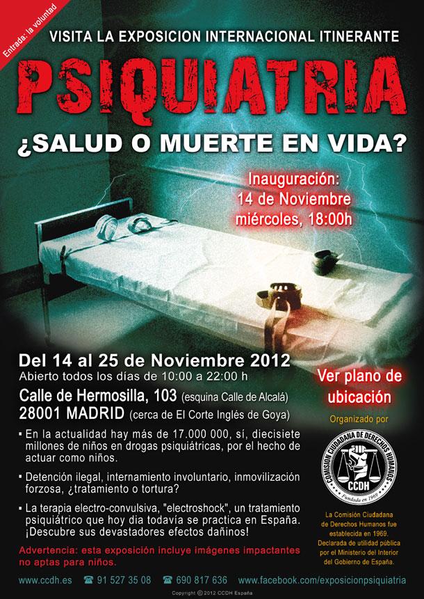 """Exposición en Madrid: """"Psiquiatría, ¿salud o muerte en vida?"""""""