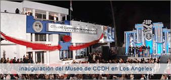 Inauguración del Museo de CCHR International