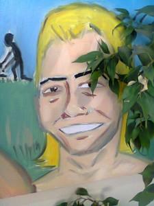 La mirada brillosa de un interno psiquiatrico. Su tristeza y alegria a la vez. Por Antonio Porras para CCDH España.